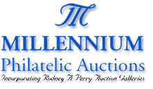 Click here to return to the Millennium Philatelic Auctions home page